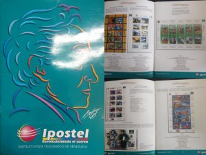 J) 2009 VENEZUELA, IPOSTEL REVOLVING IN THE MAIL INSTITUTE POSTAL TELEGRAFICO DE