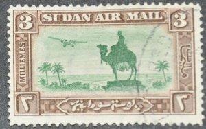 DYNAMITE Stamps: Sudan Scott #C4  – USED
