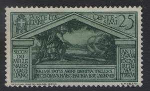 Italy - Scott 250 -Helenus and Aeneas-1930 - MVLH - 25c Green