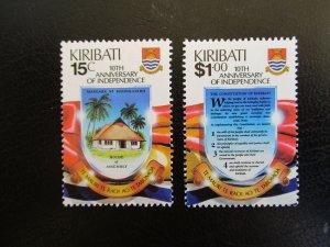 Kiribati #515-16 Mint Never Hinged (M7N4) - Stamp Lives Matter! 3