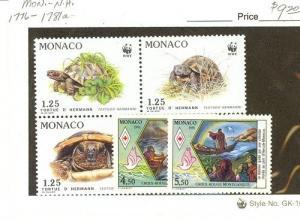Monaco Scott 1776-1781a NH    [ID#427869]