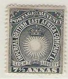 British East Africa 22 (H)