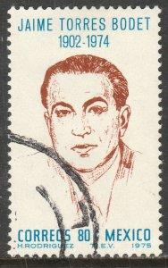 MEXICO 1141 In Memoriam J. Torres Bodet Dir of UNESCO Used. VF. (1223)