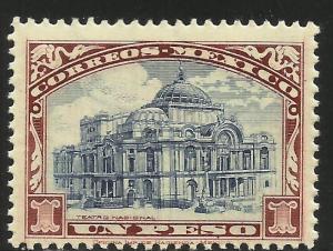 Mexico 1923 Scott# 649 MNH