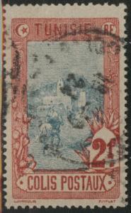 Tunis Tunisia Scott Q9 used stamp