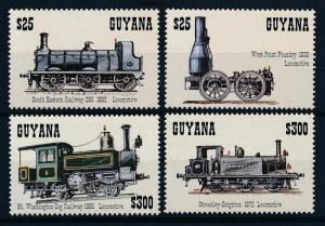 [62376] Guyana 1994 Railway Train Eisenbahn Chemin de Fer  MNH