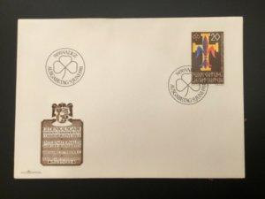 ICOLLECTZONE Liechtenstein 1981 Girl Scout FDC Cover (D100)