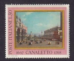 Italy    #989    MNH    1968   Canaletto painting