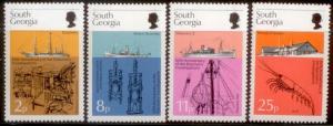 South Georgia 1976 SC# 44-7 MNH  L59