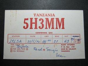5619 Amateur Radio QSL Card Dar Es Salaam Tanzania