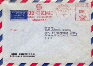 Germany, Meters, Airmail