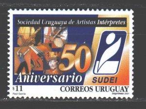 Uruguay. 2000. 2569. Congress of Artists of Uruguay. MNH.