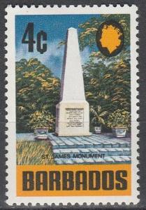 Barbados  #331  MNH   (K345)