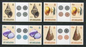 St. Helena 356-359, MNH, 1981. Marine Life. x29484