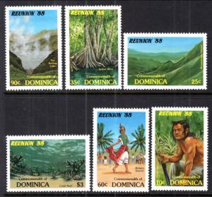 Dominica MNH 1074-9 Tourism Campaign SCV 2.70