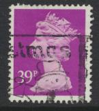 Great Britain Machin 39p brt Mauve SG X991  Used  SC# MH156  please see details
