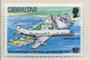 Gibraltar 1978 QEII Early Issue Fine Mint Unmounted 18p. NW-99268