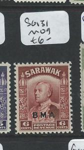 SARAWAK (PP2601B) 6C BMA   BROOKE SG131    MOG