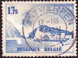 BELGIUM 1938 1.75fr Blue International edition in Liege FU