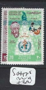 KUWAIT    (P0405B)  UN  WORLD HEALTH   DAY  SG 447-8   MNH