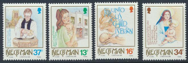 Isle of Man - SG 429-432  SC# 408-411  MUH  Christmas