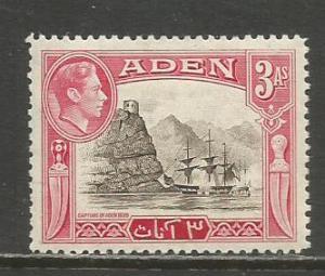 Aden   #22  MH  (1939)  c.v. $1.90