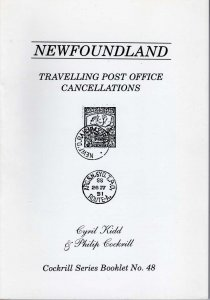 Canada NEWFOUNDLAND TRAVELLING POST OFFICE CANCELLATIONS TPO RPO postmarks