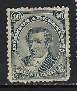 ARGENTINA 66 VFU Z2521