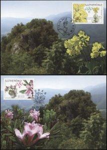 Slovakia. 2010. Muranska Plain (Mint) Set of 2 Maxi Cards