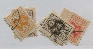 CENTRAL LITHUANIA  1-6   PERF  USED