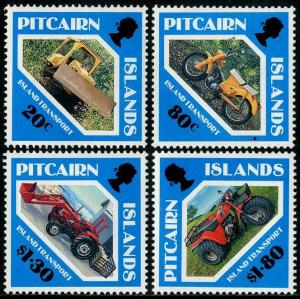 HERRICKSTAMP PITCAIRN ISLANDS Sc.# 354-57 Island Transport