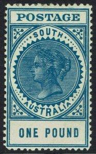 SOUTH AUSTRALIA 1904 QV THICK POSTAGE 1 POUND PERF 12