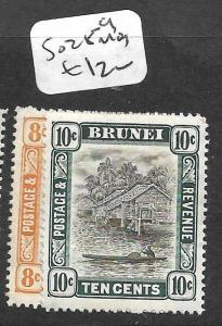 BRUNEI (PP2603B) RIVER SCENE SG 28-9  MOG