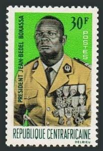 Central Africa 77,MNH.Michel 124. President Jean Bedel Bokassa,1967.