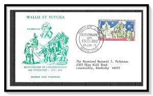 Wallis & Futuna #187 American Bicentennial FDC
