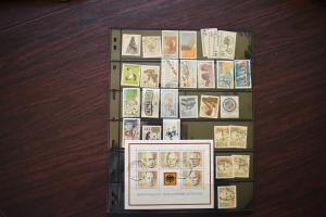 GERMANY COLLECTION 1982 YEAR SET  USED  CAT VALUE OVER 23.00