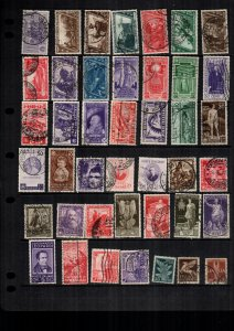 Italy  42  diff  used and mint   lot collection