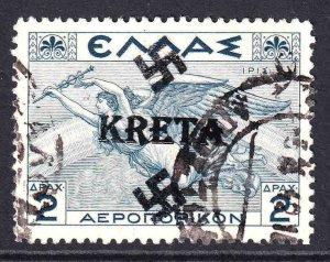 GREECE C32 KRETA OVERPRINT CDS VF SOUND
