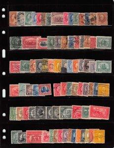 Lot of 164 U.S. Used Stamps Scott Range # 210 - 771 #139141 X