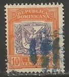 Dominican Republic 132 VFU ARMS R8-136-1
