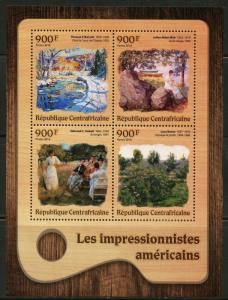 CENTRAL AFRICA 2016 AMERICAN IMPRESSIONISTS BACON, WEIR, TARBELL & BARNETT  NH