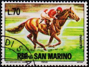 San Marino.1966 70L S.G.791 Fine Used
