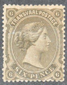 DYNAMITE Stamps: Transvaal Scott #101  – MINT hr