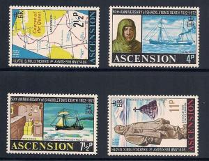 Ascension 160-163 Mint VF NH