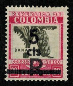 Columbia, 1932, Airmail, 20/5 centavos, BANANOS (T-7054)