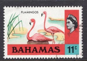 Bahamas 322 Flamingos Used VF