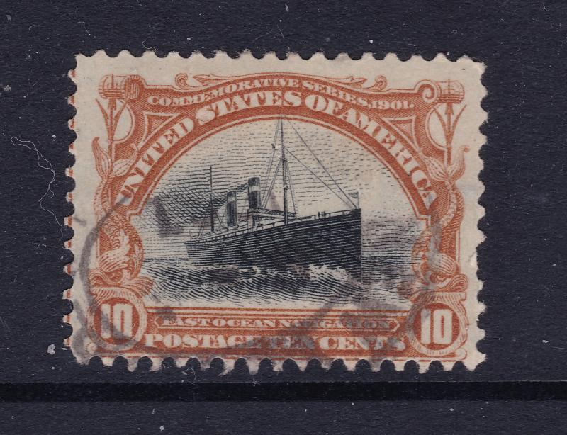 USA the 1901 used 10c