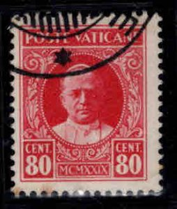 VATICAN Scott 8 Used 1929 stamp