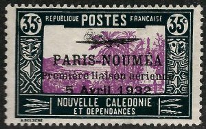 New Caledonia Paris Noumea #191 Mint F-VF ....French Colonies are Hot!