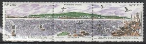 1991 St. Pierre and Miquelon - Sc 573a - MNH VF - 1 pr - Natural Heritage